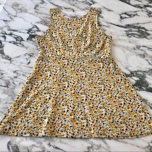 Forever 21 Sunflower Skater Dress